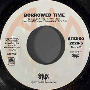 Styx Borrowed Time
